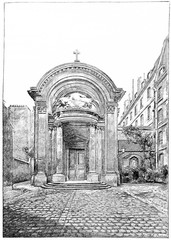 Chapel of the former College of the Lombards, rue des Carmelites