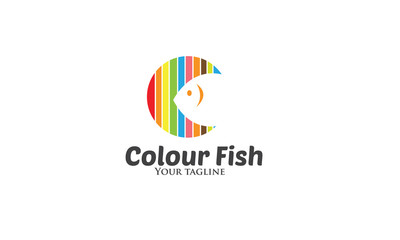Colour Fish Logo