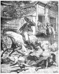 Memories of Mexico, horse die in the streets of Vera-cruz, vinta