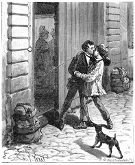 In France around a small Parisian, Maurice recognized the little