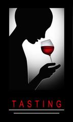 DDegustacja czerwonego wina