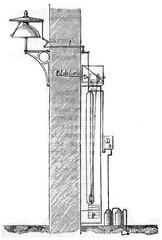 Leopolder bell, vintage engraving.