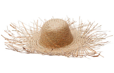 Big straw hat