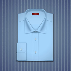 Vector illustration of a classic shirt