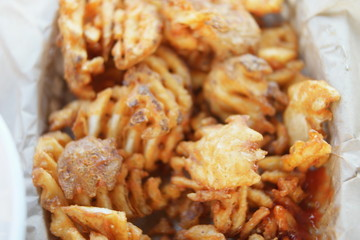 potato crisps meal