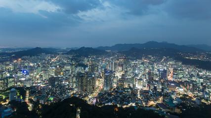 Dusk Seoul