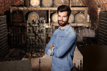 Young winemaker