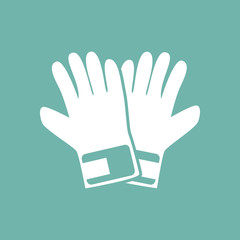 Pair of gloves icon