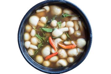 home made mushroom soup