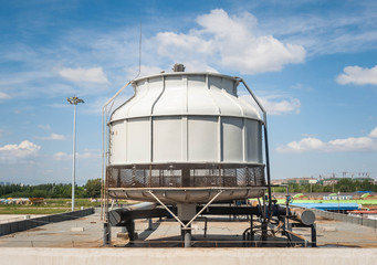 Cooling air tower for industrrial