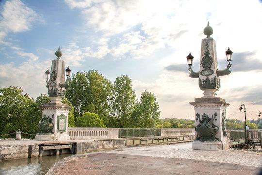 Le pont canal de Briare, Loiret, pays de Loire, france