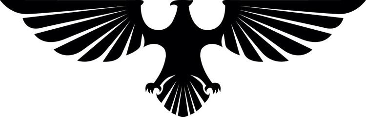 Eagle wings illustration