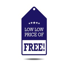 Free. Free Badge. Free Tag. Free Button. Free sticker. Vector Il