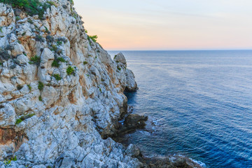 Sicilian Coastline in the Evening
