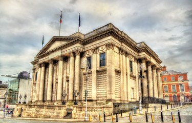 The city hall of Dublin - Ireland