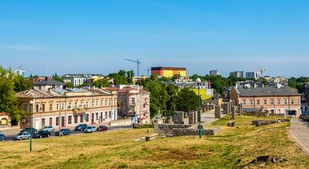 Square of the Ghetto Victims in Lublin - Poland