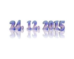 24. Dezember / Weihnachten / Datum