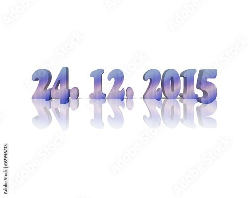 Weihnachten Datum.24 Dezember Weihnachten Datum Stock Photo And Royalty Free