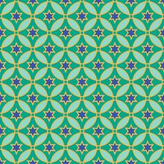 Arabic pattern. Seamless vector background
