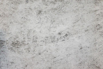 White colored concrete plaster, vintage style