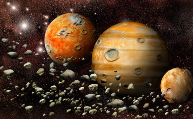 planet in the asteroid belt