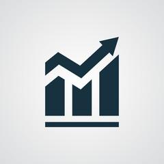 Flat Trend icon