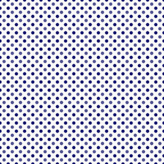 Blue and White Polka Dot  Abstract Design Tile Pattern Repeat Ba
