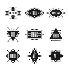 Ethnic Logo Set
