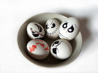 Halloween eggs meetting