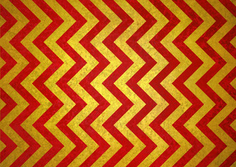 chevron striped background pattern, red gold background of zig zag lines, abstract angles and diagonal shapes design element