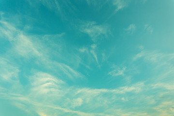 vintage sky with clouds texture for design background