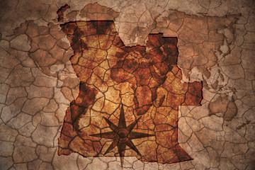 vintage angola map