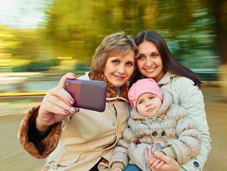 selfie Portrait Family generation
