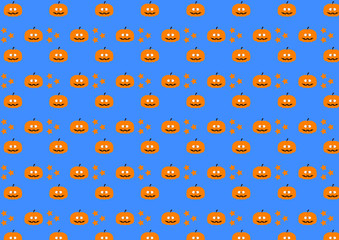 blue background for Halloween