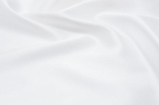 white satin fabric as background