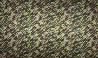 Forest Camouflage Background - a background with camouflage pattern in forest colors.