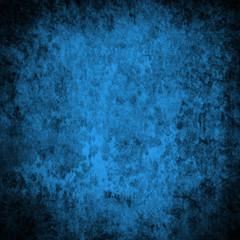 Textured grunge blue background
