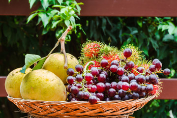 Fototapete - Tropical Fruit