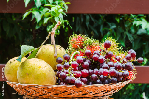 Fototapete Tropical Fruit
