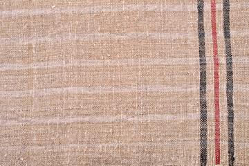 Hand woven woolen fabric, background