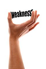 Smaller weakness