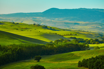 Photo sur Aluminium Colline Tuscany hills