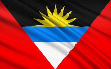 Flag of Antigua and Barbuda, St. John's