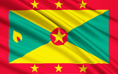 Flag of Grenada, Saint George's