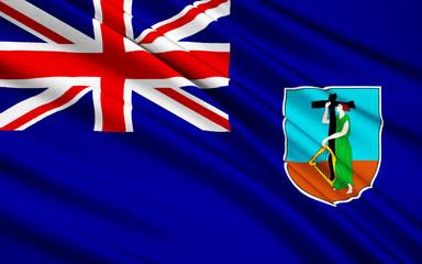 Flag of Virgin Islands, United Kingdom - Road Town