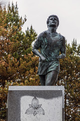 Terry Fox Memorial and Lookout in the outskirts of Thunder Bay.