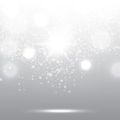 winter white sparkling background Christmas abstract square meta