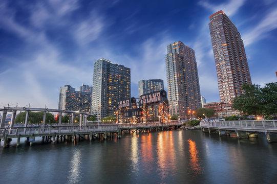 Pier of Long Island, New York City