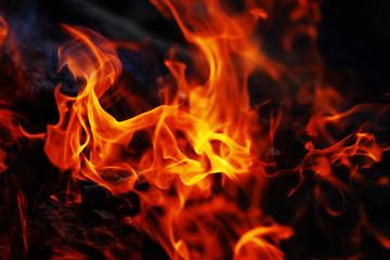 Photo sur Toile Feu, Flamme 炎