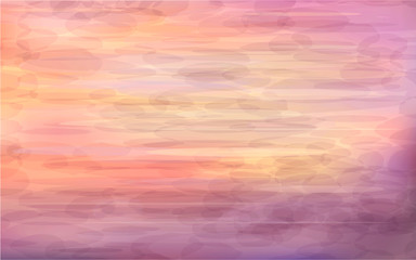 Beautiful abstract background - sunrise on the sea